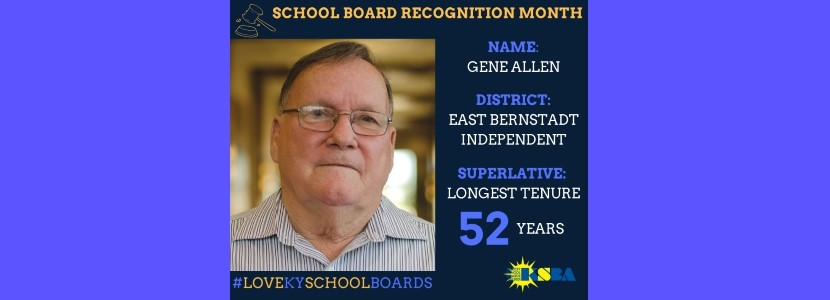 Thank you for 52 years of service, Mr. Allen!!!