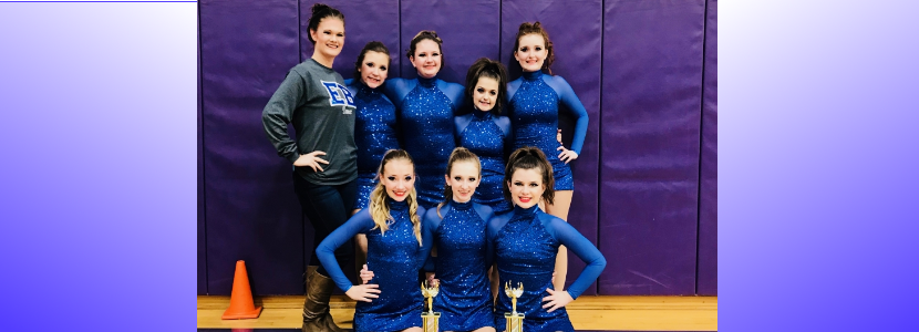 EB Middle School Dance Team: KDCO Regionals 2019- 1st place in Pom and 1st place in Hip-Hop