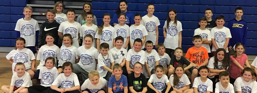 East Bernstadt Elementary Basketball Camp 2019