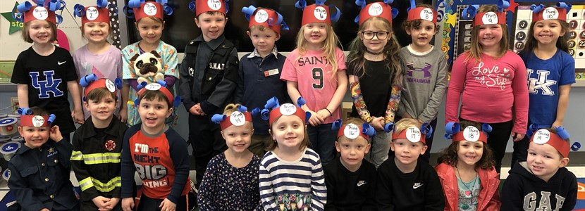 Read Across America Week 2019 at East Bernstadt School