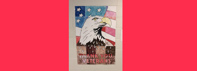 Mrs. Smoak's Class:  Collaborative Veterans Day Poster