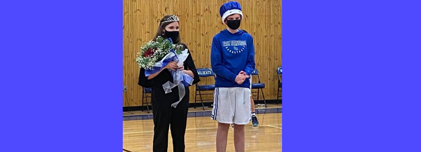 CONGRATULATIONS to our Middle School Homecoming King Finn McArdle and Queen Bailee Storm!