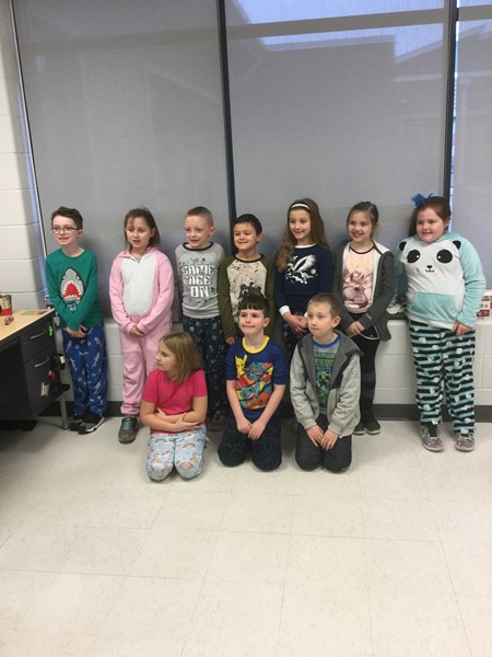 Mrs. Adams's Class celebrated 100th day of school!