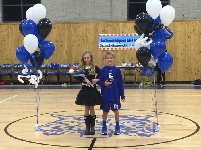 East Bernstadt Elementary School had their 4th and 5th grade basketball homecoming on November 10, 2016.