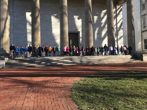 5th graders went to the State Capital- December 13, 2017