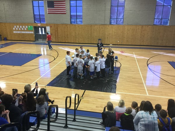 Boys Basketball Championship Rally