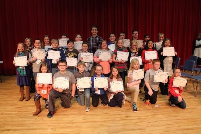 Laurel County District Spelling Bee