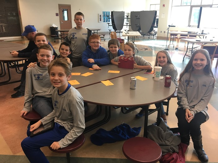 Elementary Academic Team attends Regional Cup 2017
