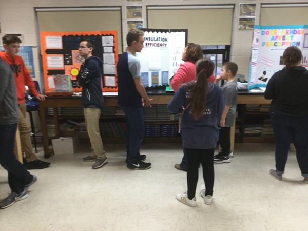 EB Middle School Science Fair