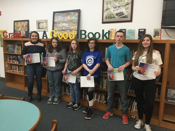 EB Middle School Science Fair Awards