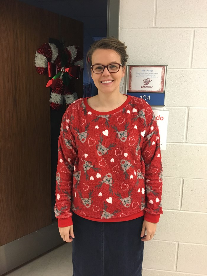 Ugly Christmas Sweater Contest- 2016