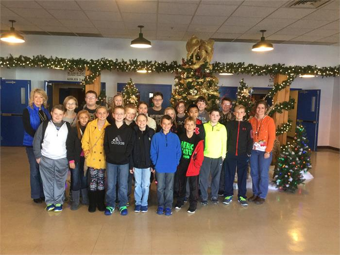 East Bernstadt School Academic Teams Field Trip- 12/4/15