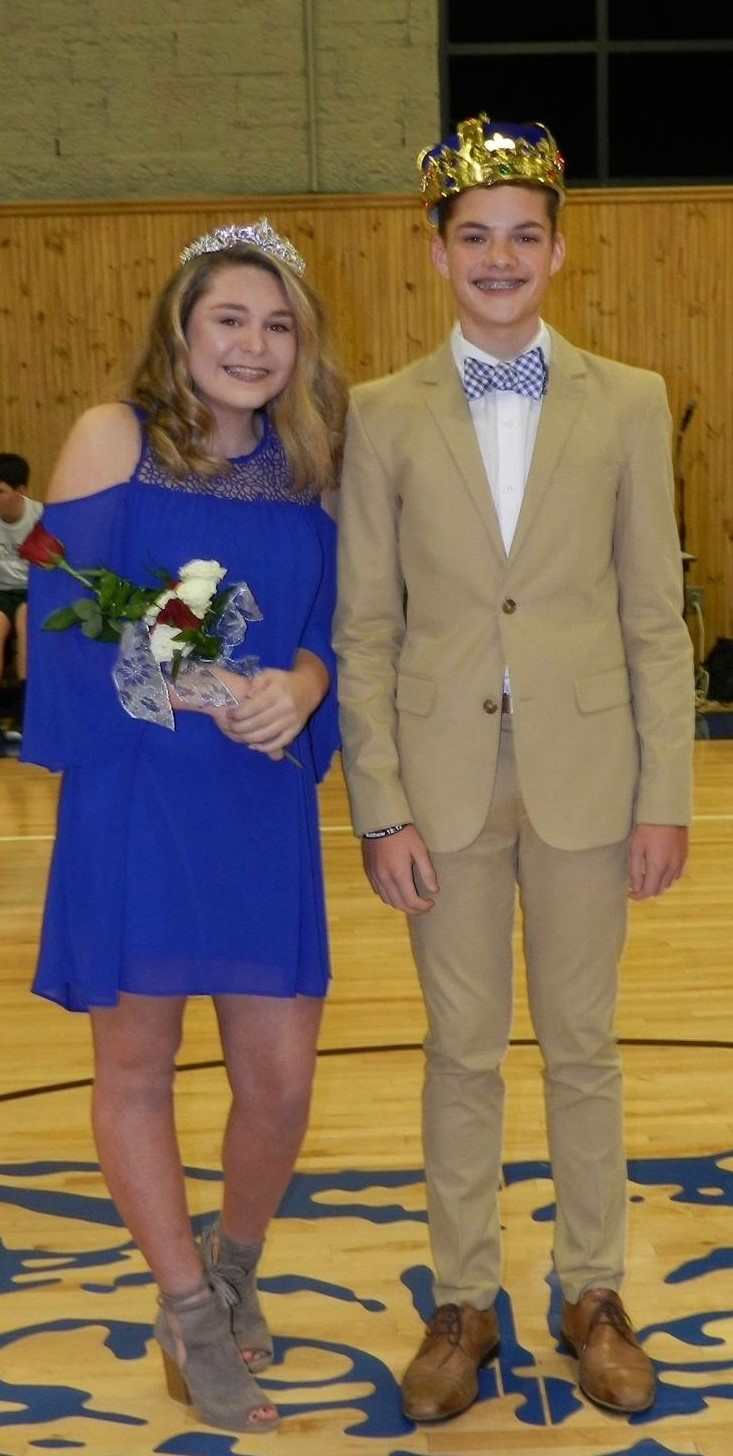 Middle School Basketball Homecoming