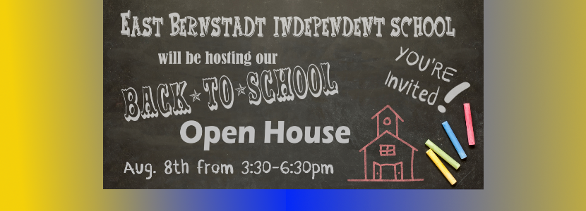 Make plans to join us on Aug. 8th for our Open House! #SaveTheDate