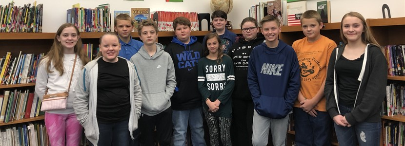 Ms. Hamilton's 7th Graders are Month 3 Attendance Winners!