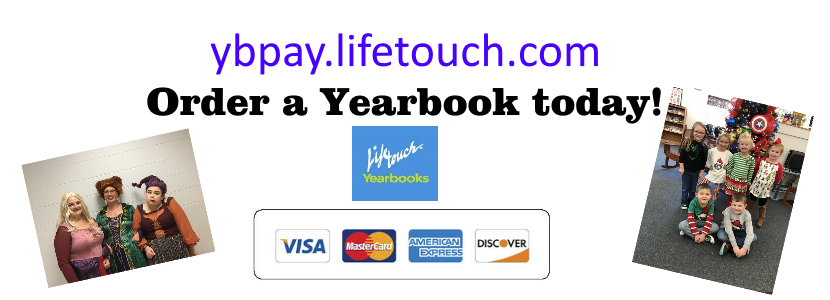 You can order your yearbook online!