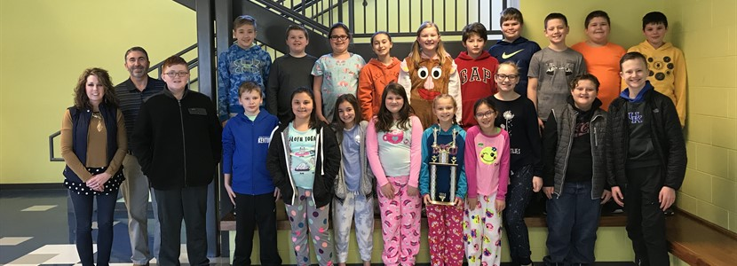 Congratulations to the EB Elementary Archery Team for qualifying to compete in the Kentucky State Tournament in Louisville on March 15th-16th!
