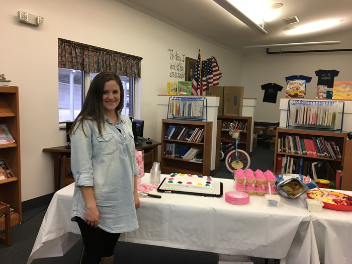 Mrs. Alsip's Baby Shower- January 25, 2017