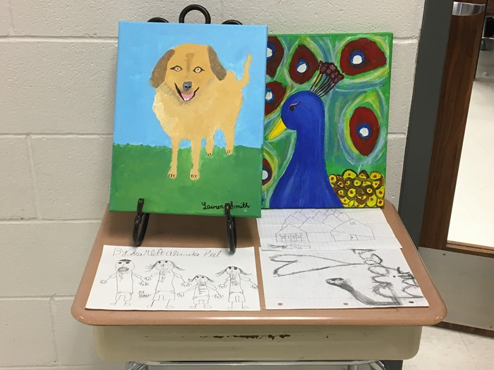 Student Art Show- Wednesday, March 1, 2017