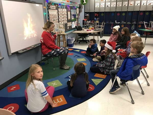 2018 Christmas Family Reading Night!