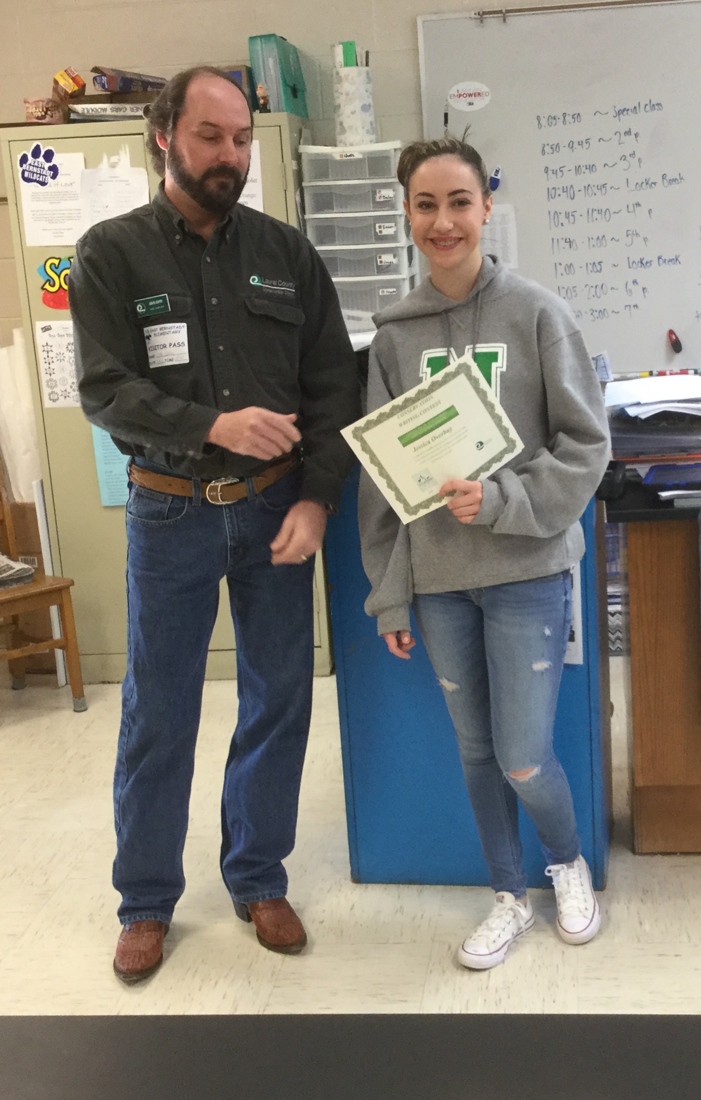 Conservation Contest Winners