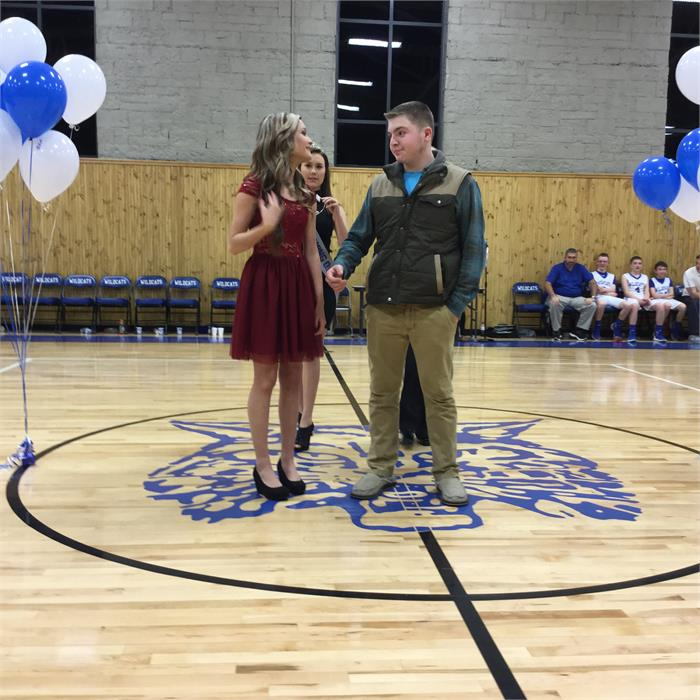 East Bernstadt Middle School Basketball Homecoming